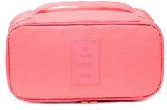 Дорожный органайзер Supretto для белья и косметики 27х14х10 см Розовый (5669-0001)
