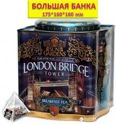 Чай черный Sun Gardens London Bridge 100 пирамидок, 200 г (4820082706937)