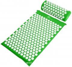 Коврик массажный с подушкой ProSource Acupressure Mat and Pillow Set Зеленый (ps-1203-accuset-green)