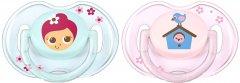 Пустышка Philips AVENT Classic 0-6 мес 2 шт (SCF169/43_blue/pink)