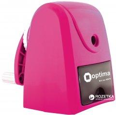 Точилка механическая Optima с автоматической подачей Розовая (O40676-09)
