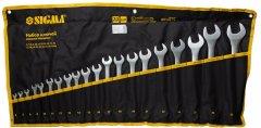 Набор ключей рожково - накидных Sigma 20 предметов 6 - 32 мм CrV (6010171)