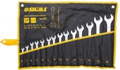 Набор ключей рожково - накидных Sigma 14 предметов 6 - 24 мм CrV (6010161)