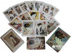 Карты игральные покерные атласные Duke Geisha 54 листа 88х63 мм (DN25239) (2000020238214)
