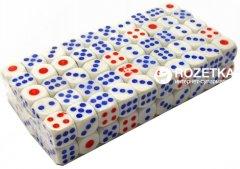 Кости игральные Duke пластмассовые, белый 100 шт (DN28921) (2000020241795)