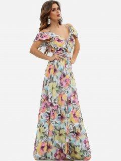 Платье ISSA PLUS 11531 XL Мультиколор (issa2000283723427)