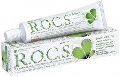 Зубная паста R.O.C.S. Энергия утра Двойная мята 74 г (4607034470463)
