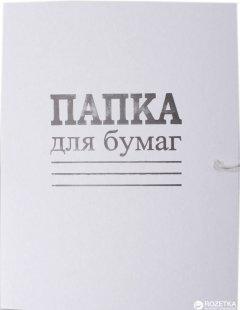 Набор папок бумажных DK на завязках Дело А4 белый 50 шт (DK002)