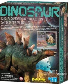 Набор для раскопок 4M Скелет стегозавра (00-03229)