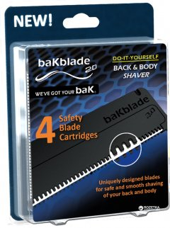 Cменные картриджи BaKblade для бритвы 2.0 (712038330522)