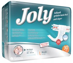 Подгузники для взрослых Joly 3 Large 30 шт (8690536804030)