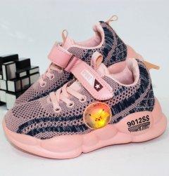 Кроссовки Alemy Kids FS2908F-LED 29 18.0см розовый