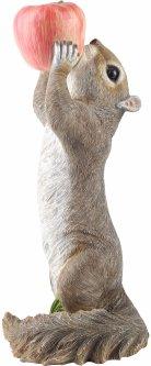 Декоративная фигурка Engard Белка с яблоком 15.5х16х36 см (KG-33)