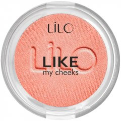 Компактные румяна Lilo Like my cheeks тон 502 Коралловый нюд (4814587000898)