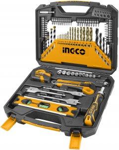 Набор инструментов INGCO универсальный 86 предметов (HKTAC010861)