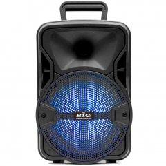 Автономна активна акустична система BIG 804GALAXY BT+ Шнуровий мікрофон караоке