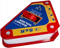 Магнитный держатель S&R 13 кг углы 45°, 90°, 135°, с переключателем On/Off (290103110)