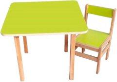 Стол Sofia со стульчиком Green (Столик+стул. Sofia green)