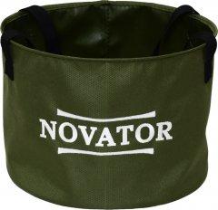 Ведро для прикормки Novator VD-1 30 x 23 см Зеленое (201955)