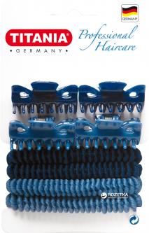 Набор зажимов и резинок для волос Titania 8001 (8001)