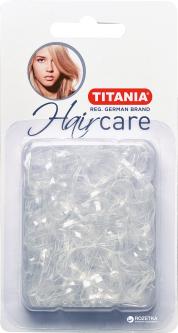 Набор резинок для волос 2 см Titania 8065 B 150 шт Полупрозрачный (8065 В)