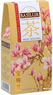 Чай зеленый Basilur Китайский Молочный улун 100 г (4792252937628)