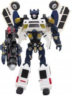 Робот-спасатель Able Star Лендмастер со светозвуковыми эффектами Бело-Серый (3866_бело-серый)
