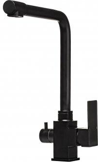 Смеситель кухонный с подключением к фильтру MIXMIRA MS-0110-BB Quadro (000019176)