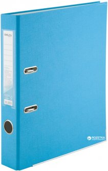 Папка-регистратор Delta by Axent A4 50 мм Арочный Светло-голубая (D1713-29C)