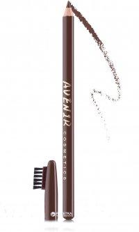 Карандаш для бровей Avenir Cosmetics 112 Кофейно-коричневый 2.2 г (5900308135105)