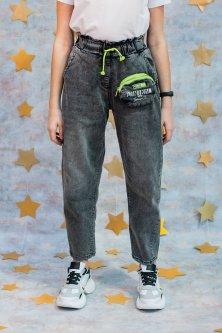 Джинси A-yugi Jeans 170 см Темно-сірий (2125000705446)