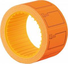 Этикет-лента Economix 30 x 20 мм 200 шт/уп Оранжевая (E21306-06)