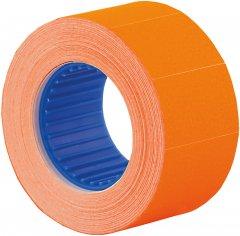 Этикет-лента Economix 26 x 16 мм 500 шт/уп Оранжевая (E21305-06)