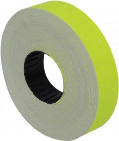 Этикет-лента Economix 16 x 23 мм 700 шт/уп Желтая (E21302-05)