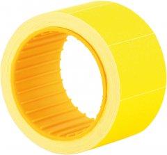 Этикет-лента Economix 30 x 20 мм 200 шт/уп Желтая (E21308-05)