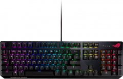 Клавиатура проводная Asus ROG Strix Scope Cherry MX Silent Red RGB USB (90MP0185-B0RA00)