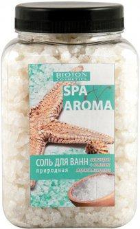 Морская соль для ванн Bioton Cosmetics Spa Aroma природная с экстрактом ламинарии и комплексом морских минералов 750 г (4823097600528)