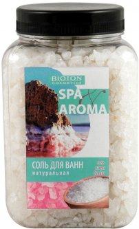 Морская соль для ванн Bioton Cosmetics Spa Aroma натуральная соль озера Сиваш 750 г (4823097600580)