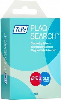 Таблетки для идентификации зубного налета TePe PlaqSearch 10 шт (992676) (7317400014043)