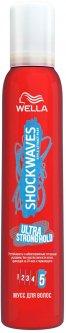 Мусс для волос Wella Shockwaves суперсильной фиксации 200 мл (3614226670144)