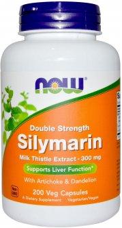 Натуральная добавка Now Foods Силимарин (Расторопша) 300 мг 200 гелевых капсул (733739047533)