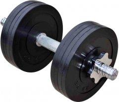Гантель наборная RN-Sport обрезиненная 11 кг (RN_OD11)