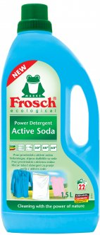 Концентрированное жидкое средство Frosch для стирки Сода 1.5 л (4009175936455)