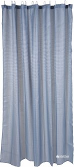 Шторка для ванной Bathroom solutions Горох 180x180 см Голубая (CY2210430_blue)