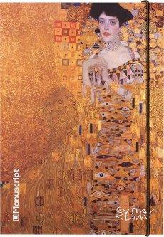 Скетчбук Manuscript Klimt 1907-1908 Plus A5 Чистые 160 страниц с открытым переплетом (M- Klimt+)