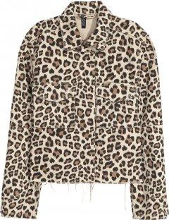 Куртка джинсова H&M Divided XAZ160275BJTN 32 Леопардова (DD2000002745365)