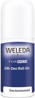 Дезодорант для мужчин Weleda Roll-On 24 часа 50 мл (4001638095228)