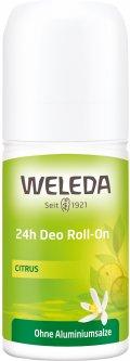 Дезодорант Weleda Цитрус Roll-On 24 часа 50 мл (4001638095235)