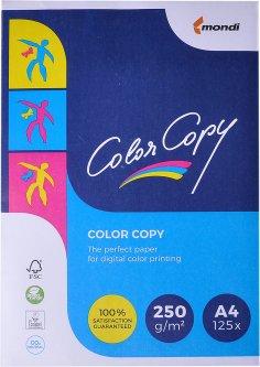 Бумага офисная Color Copy A4 250 г/м2 125 листов Белая (A4.200.CC)