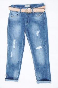 Джинси жіночі WOOX Boyfriend W32 L28 Синій Арт 2007